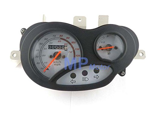 (Sala-Ctr - GY6 50cc 125cc Scooter Moped Speedometer Light Gas Gauge for Keeway Triton)