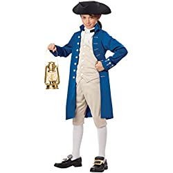 California Costumes Paul Revere Boy Costume, One Color, X-Large