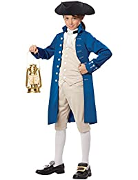 Paul Revere Boy Costume, One Color, Large