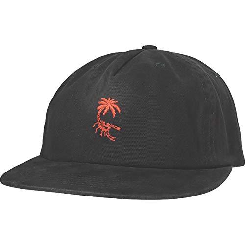 Globe Men's Scorpio Snapback Adjustable Hats,One Size,Washed Black