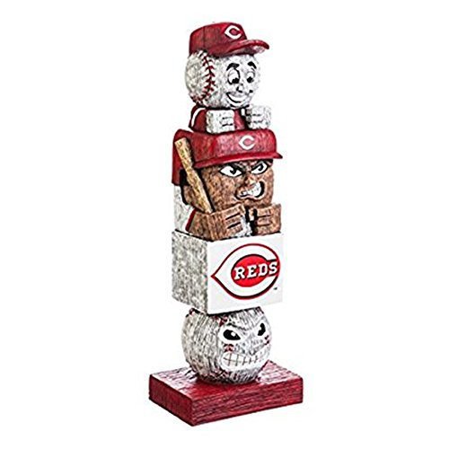 Rico Industries, Inc. Cincinnati Reds Tiki Totem Pole 16