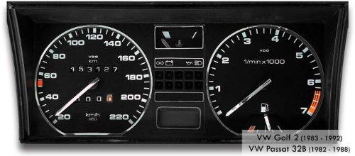 Drive Zero #tr_vw-103 Tachodekorset Chrom