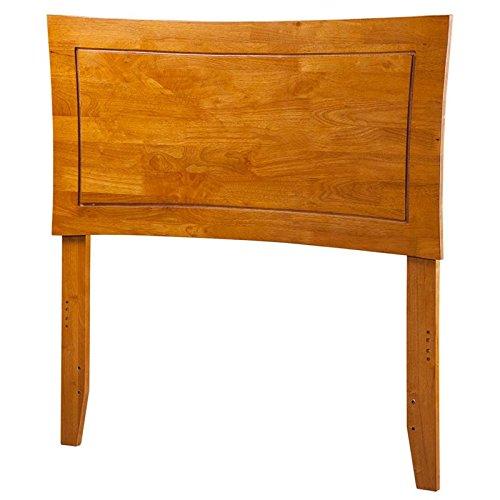 Atlantic Furniture 44.25 in. Twin Headboard in Caramel Latte Finish