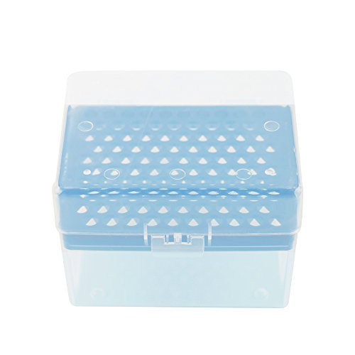 1000ul Pipette Tips - Eowpower Rectangular Laboratory 100 Positions 1000ul/1ml Pipette Pipettor Tip Box