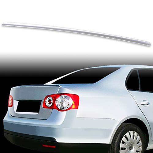 Vw Jetta Trunk Wing - FYRALIP Painted Factory Print Code Trunk Lip Wing Spoiler For 2006-2011 VW Volkswagen Jetta Bora Fifth Generation MK5 Sedan Fast Delivery Easy Installation Perfect Fit - L041 Black