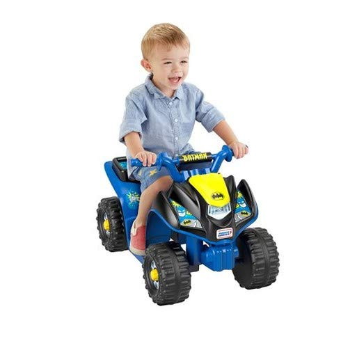 Power Wheels Power Wheels Batman Lil' Quad, used for sale  Delivered anywhere in USA