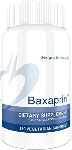 Designs for Health Baxaprin - Muscle Cramp Relief with Valerian + Magnesium (180 Capsules)