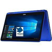 Dell Inspiron 11.6 HD 2-in-1 Convertible Touchscreen Laptop (Tablet), Intel Quad-Core Pentium N3710 up to 2.56GHz, 4GB RAM, 500GB HDD, MaxxAudio, WLAN, Bluetooth, HDMI, Webcam, Windows 10