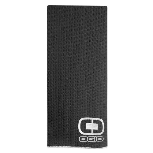 (Ogio Golf Towel, Black, Large)