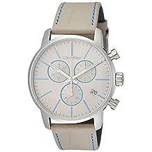 Calvin Klein City Chronograph Grey Dial Mens Watch K2G271Q4