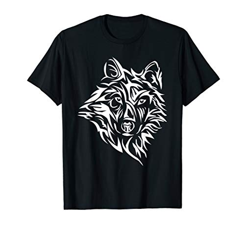 (Dire Wolf Stencil Lone Northern Tribal Teen Howling)