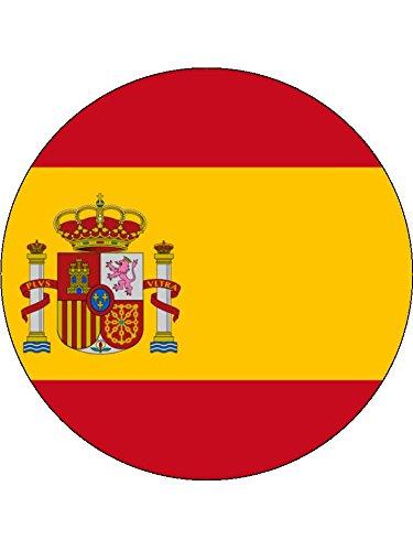 Novelty Spanish Flag 7.5