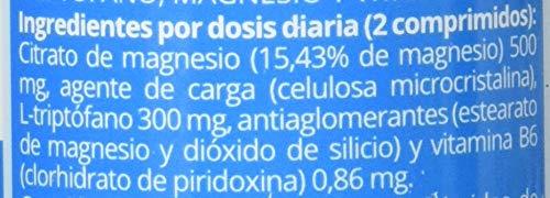 Naturlider Triptófano con Magnesio y Vitamina B6-120 Cápsulas