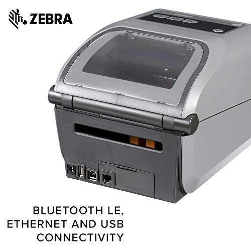 Zebra - ZD420t Thermal Transfer Desktop Printer for Labels and Barcodes - Print Width 4 in - 203 dpi - Interface: USB - ZD42042-T01000EZ by Zebra Technologies (Image #4)