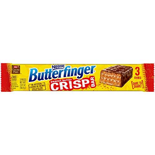 Butterfinger Crisp Candy Bars Share Pack, 2 Ounces (Pack of 18) - Nestle Crunch Crisp