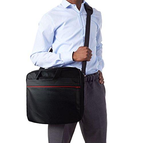 Laptoptasche für Lenovo B51-35 Businesstasche / Aktentasche / Notebooktasche mit Schultergurt - LB Schwarz 3 6hzyp5AOeL