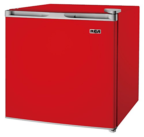 1.6-1.7 Cubic Foot Fridge, Red