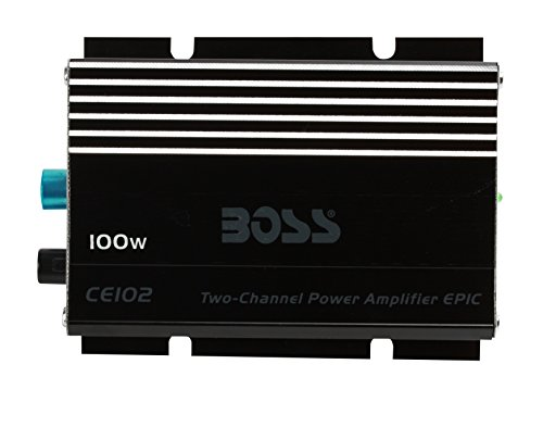 Boss Audio AR1600.2 CE102 Watt, Chaos Epic, 2 Channel, 4 Ohm Stable Class A/B, Full Range, MOSFET Car Amplifier