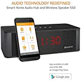 Amkette Trubeats S50 Smart Wireless Bluetooth Speaker and Home Audio Hub with APP Control FUNCTIONALITY-(Black)