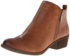 Look fab from head to toe with some help from these must-have booties. Step out in style with the chic assistance of the Basel bootie. Leather, suede, or nubuck upper with side zipper closure. Smooth textile lining and lightly cushioned footb...