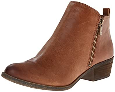 Lucky Brand  Women's Basel Boot, Toffee, 5 M US