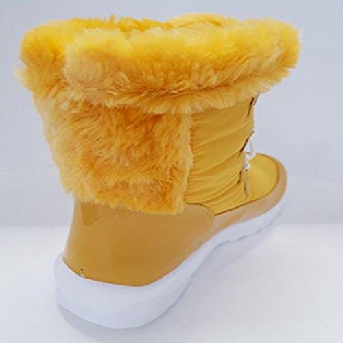 San Bernardo Damen Stiefel & Stiefeletten Gelb