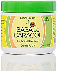 Baba de Caracol Facial Moisturizing Cream Alantoina, Collagen and Vitamins A and E