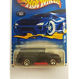 '56 Ford Hot Wheels 2002 diecast 1/64 scale car No. 191