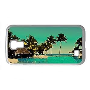 Fiji Resort Watercolor style Cover Samsung Galaxy S4 I9500 Case (Islands Watercolor style Cover Samsung Galaxy S4 I9500 Case)