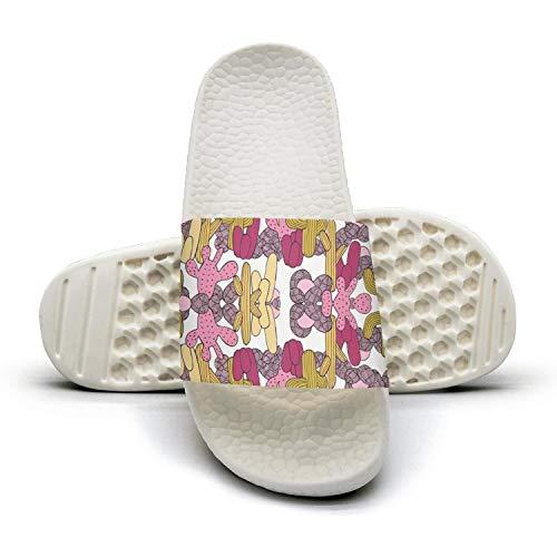 Slides Pink Cactus Boho Pattern Women HSJDAPOCOAQ Desert Summer 1 for Cactus BqIpgIw