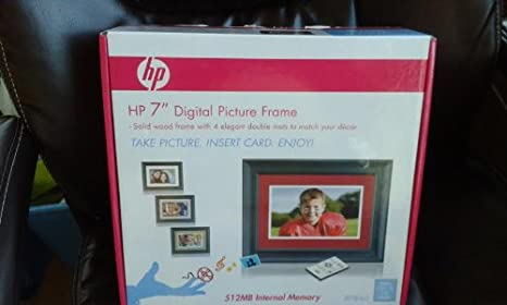 Amazoncom Hp 7 Lcd Digital Photo Frame Df780a2 Black