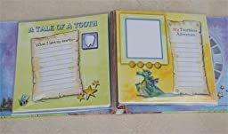 Baby Tooth Album - Baby Tooth Scrapbook - Tooth Fairy Edition - Pink