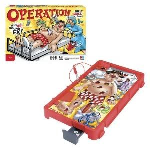 Toy Game Operation With Fun Sound FX Keep Everything Together! Convenient Clipboard And Storage Tray