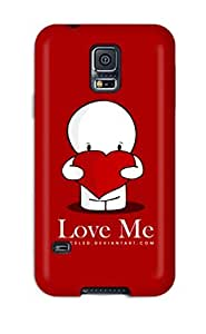 New Love Me Skin Case Compatible With Galaxy S5