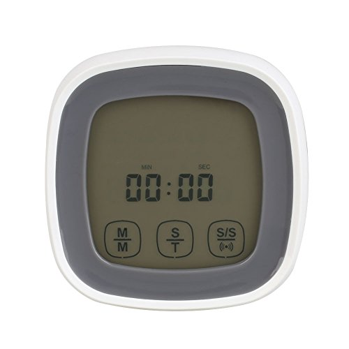 (Thermometer Probe Timer Digital Alert Warning for Cooking BBQ Oven Food)