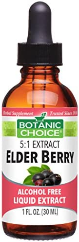 Botanic Choice Elder Berry Alcohol Free Liquid Extract
