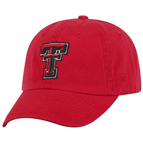Texas Tech Red Raiders Adult Adjustable Hat