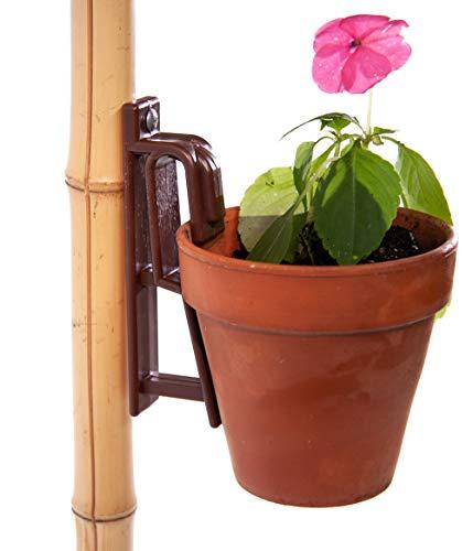 Pot Latch Hangers (3-Pack) Brown