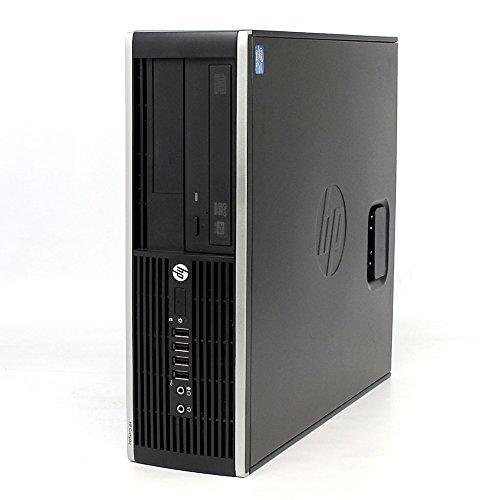 HP Compaq 6300 Pro Desktop PC - Intel Core i5-3470 3.2GHz 4GB 250GB DVDRW Windows 10 Pro (Renewed)
