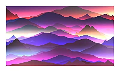 Bgraamiens Puzzle-The Hills Beyond-1000 Pieces Color Challenge Jigsaw Puzzles