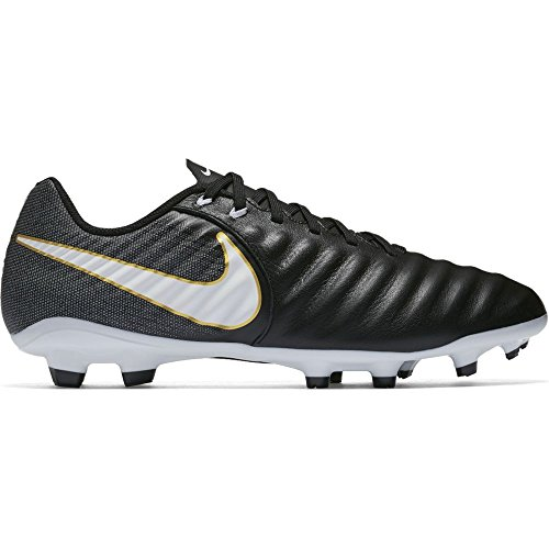 Ligera Fg White Black Iv s Footbal Shoes Tiempo NIKE 002 Black Men Black wqaxFF