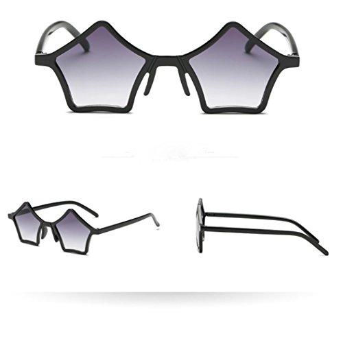 ec9921c3233 Unisex Premium Star Shape Sunglasses Polarized Mirrored Plastic Frame by  Vertily
