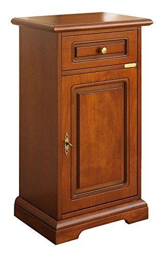 Porta telefono classico con cassetto, mobile per ingresso, mobiletto ...