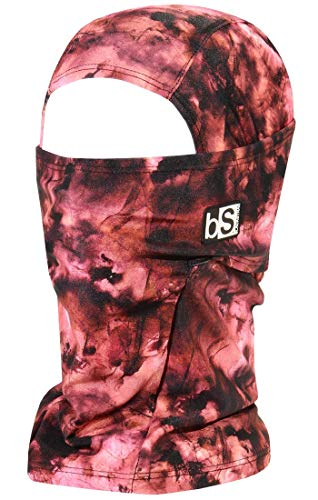 BLACKSTRAP Hood Balaclava Face Mask, Dual Layer Cold Weather Headwear for Men and Women, Tie Dye Copper