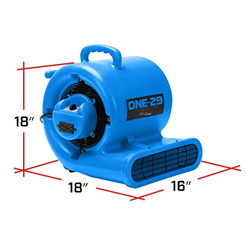 BlueDri Water Damage Industrial Commercial Dehumidifier Air Scrubber Air Mover
