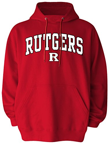 (Old Varsity Brand NCAA Rutgers Scarlet Knights Pullover Hood, X-Large, Red)