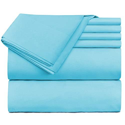 - Nestl Bedding Extra Deep Pocket Sheets - Super Deep Fitted Sheet 18