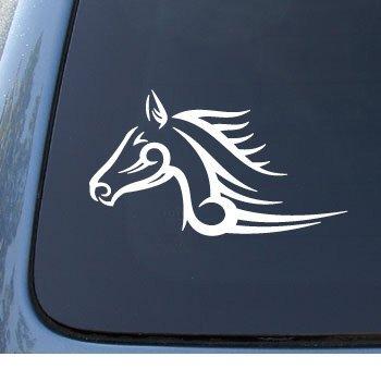 TRIBAL HORSE - Car, Truck, Notebook, Vinyl Decal Sticker #1215 | Vinyl Color: (Tribal Car)