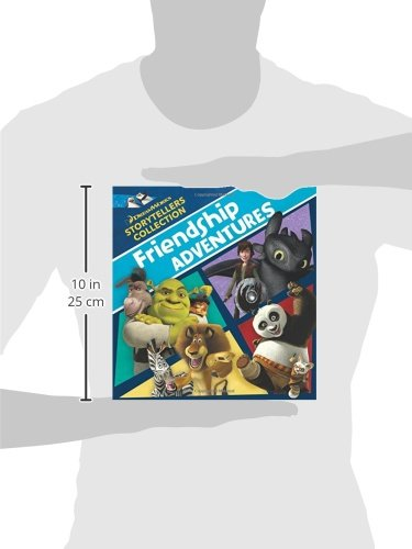 8afd70216 DreamWorks Friendship Adventures (DreamWorks Storytellers Collection):  DreamWorks Press, Laurie Young: 9781941341001: Amazon.com: Books