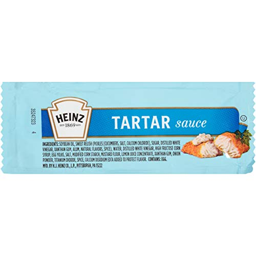 Heinz Tartar Sauce (0.4 oz Packets, Pack of 200)